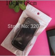 White Phone Case Plastic Retail Package, Bag For Cell Phone 10x18cm, DHL/Fedex Free Shipping, 3-7days arrive!