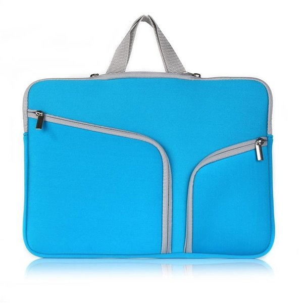 2018 NEW Laptop Bag For Macbook Pro Air Retina 11 12 13 15 inch Notebook Sleeve Bag Ultrabook Pouch Double Pocket Zipper Bag