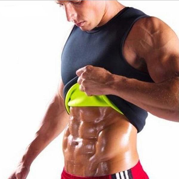 Cinto de emagrecimento Homens Emagrecimento Colete Shaper Do Corpo Neoprene Abdômen Queima De Gordura Shaperwear Cintura Suor Corset Perda De Peso