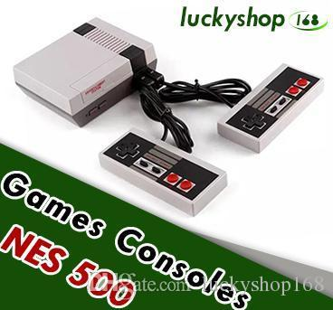 top popular Mini TV Game Console Video Handheld for NES Games Consoles With Retail Box Hot Sale 2019
