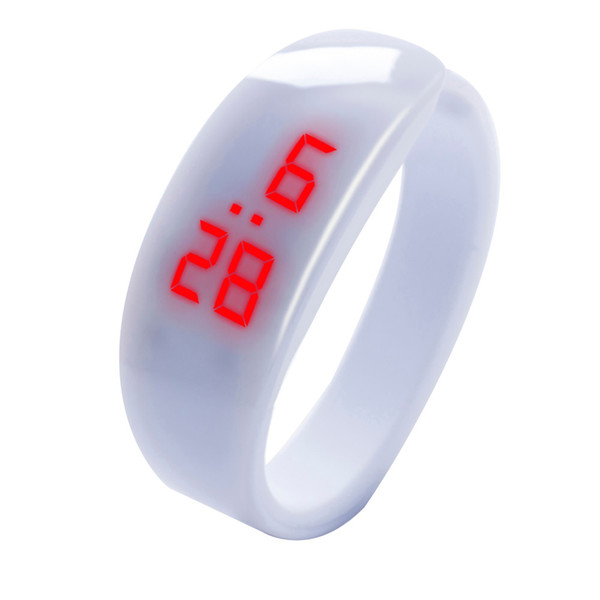 Tangnade High quality LED Digital Display Bracelet Watch Dolphin Young Fashion Sports Bracelet relogio masculino digital 20