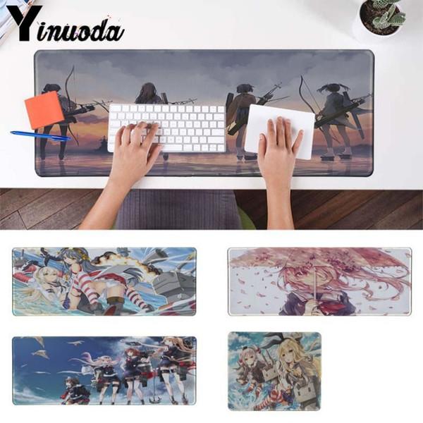 Yinuoda Cute Girls Kantai Collection sur mesure Tapis de souris pour ordinateur portable Gaming