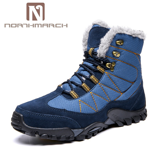 buy online 74d43 d14eb NORTHMARCH 2018 Winter Men Shoes Warm Snow Boots Men Fashion Sneakers Non  Slip Outdoor Mens Casual Shoes Winterschuhe Herren Ankle Boots For Women ...