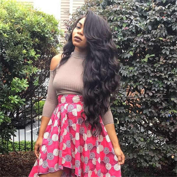 Big Body Wave Human Hair Wigs Bleached Knots Full Lace Wigs Brazilian Malaysian Medium Size Swiss Lace Cap Lace Front Wigs