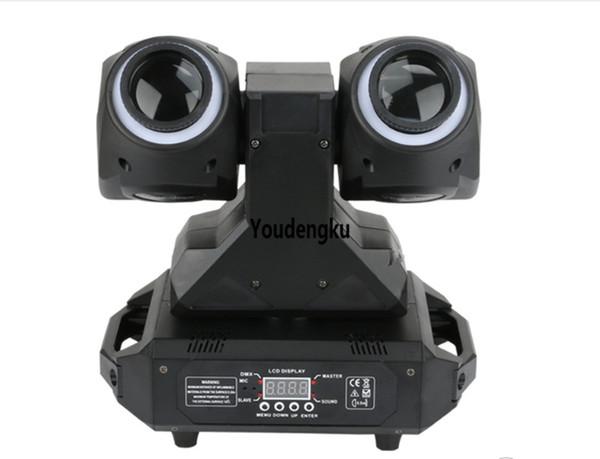 2 Stück 2 Seite 2x30W RGBW + 2x12 LED-Lampen LED kleinen beweglichen Kopf RGBW Strahl Licht / Double Face LED Moving Head