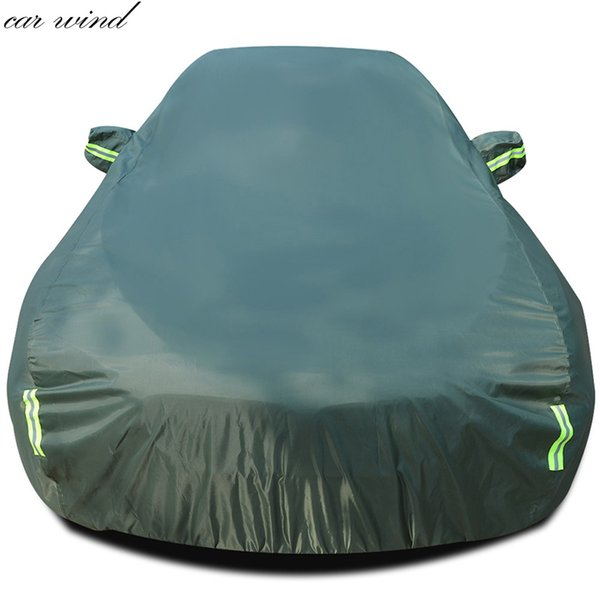 best selling Car wind Ox Waterproof For vw  prius  206 Sunshade Snow Protection Dustproof rainproof Car Cover umbrella