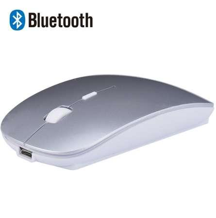 Rechargeable Bluetooth Wireless Slim Mouse Mice for iPad Mac Apple Laptop Macbook Notebook Desktop Tablet Support Windows 10 8 7