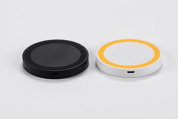 Caricabatterie per telefoni cellulari con caricabatterie wireless a colori per iPhone Samsung galaxy Ricevitore per ricevitore ricevente adattatore universale Caricabatterie per telefono veloce