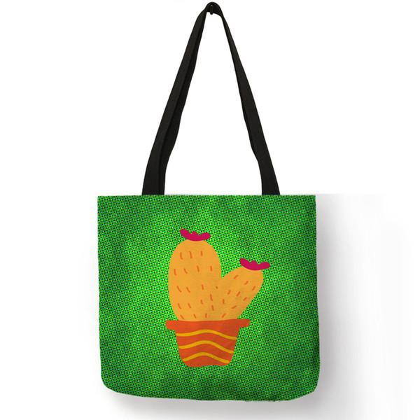 Sac en toile d'Eco de sac d'emballage de femmes de mode d'art abstrait avec le logo imprimé Sacs à provisions réutilisables adaptés aux besoins du client