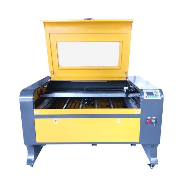 water chiller cw3000 reci 100w w2 tube 1080 laser engraver cutter ruida 6442s laser engraving cutting machine