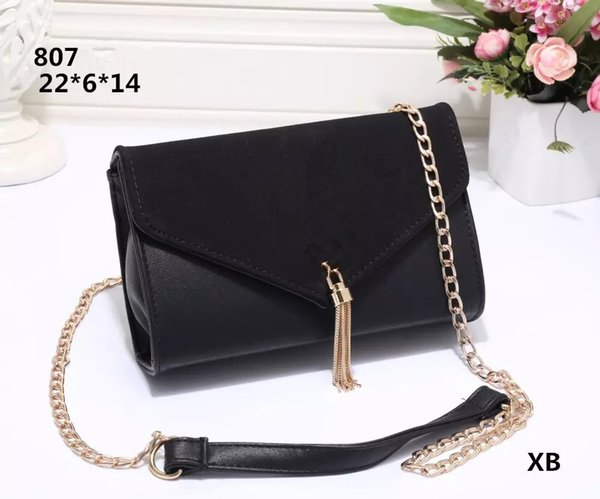 Hot Sale 2019 Fashion Women Shoulder Bag Chain Messenger Bag High Quality Handbags Wallet Purse Designer Cosmetic Bags Crossbody Bags Totes