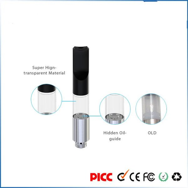 Wholesale cheap BUD S wickless Vape Tank WAX Thick Oil cartridge Vaporizer Atomizer For BUD Touch O Pen Battery