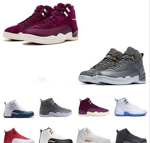 Zapatos de baloncesto Zapatillas 12s triple BLAck gym red 12s XII Mens master nuevo deportivo Calzado deportivo zapatos de moda de descuento