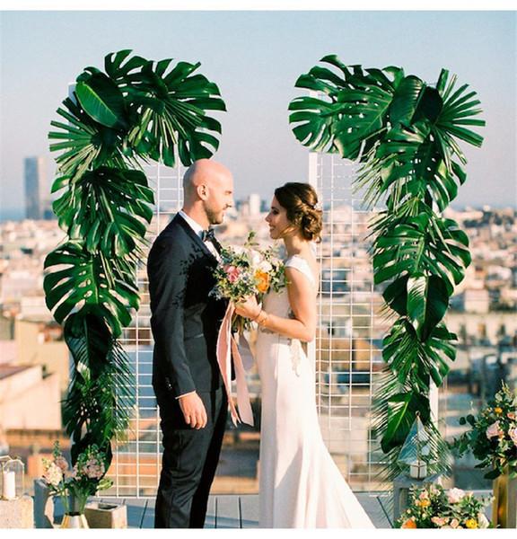 Simulation grün Pflanze Schildkröte Blatt schrittweise stieg Blumenstrauß Tuch gefälschte Blume Blatt arrangieren Blumenvase Dekoration Party Tabelle Hochzeit Dekor