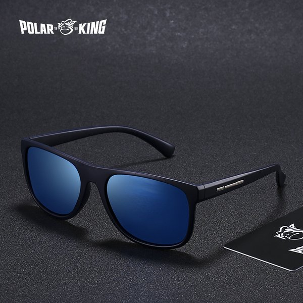 POLARKING Brand Men Sunglasses Polarized Men's Fashion Sun Glasses For Men Travel Driving Fishing Eyewear oculos D18101302