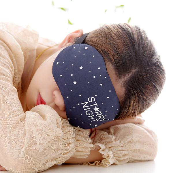 Summer Cold Compress Hot Compress Sleeping Eye Mask Men And Women Relieve Eye Fatigue Sleep Cold Compress Eye Cover