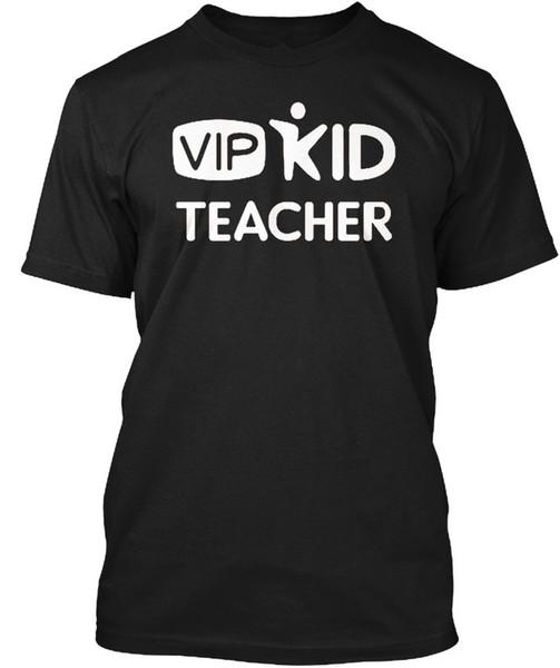 Magliette da uomo Vipkid Teacher Cool Shirt Designs O-Neck Graphic