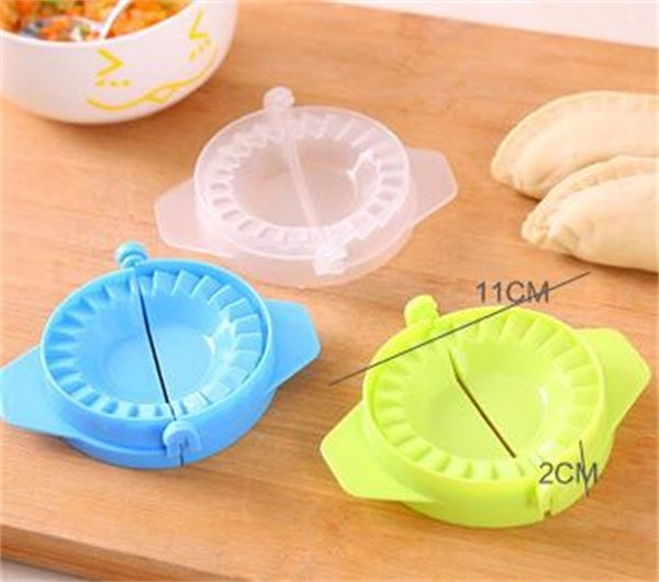 Creative Make Dumplings Clamp Dumpling Colorful Kitchen Tools Simple Operation Foldable Easy Clean Factory Direct 0 22jj X