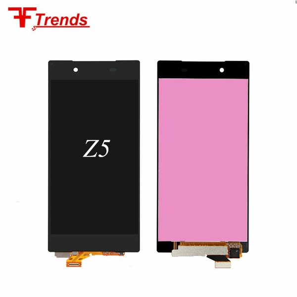 Mobile phone accessories or repair parts for sony z5 LCD touch screen digitizer assembly original wholesale