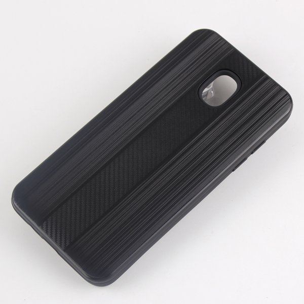 Armor case For Samsung galaxy J2 prime G530 J2 PRO 2018 A8 PLUS Hybrid PC TPU Case Carbon Fiber Captain phone Cases