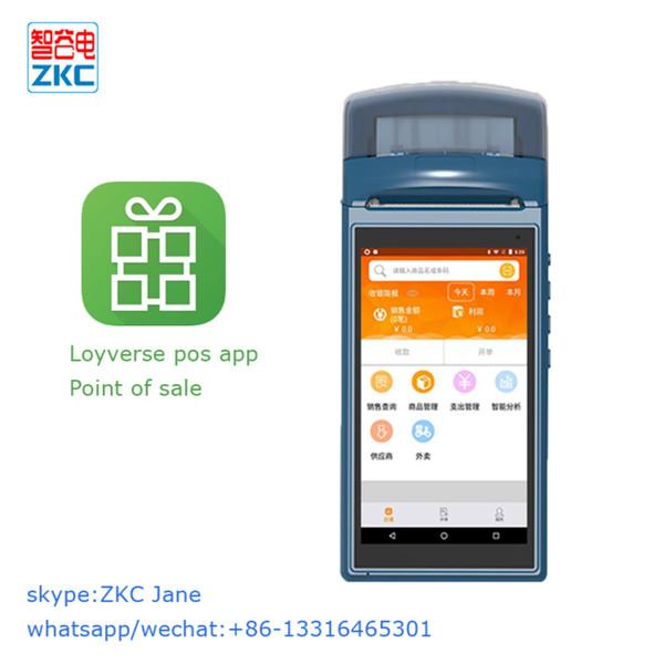 Мини-термопринтер Android 5.1 Сканер штрих-кода Ручной терминал