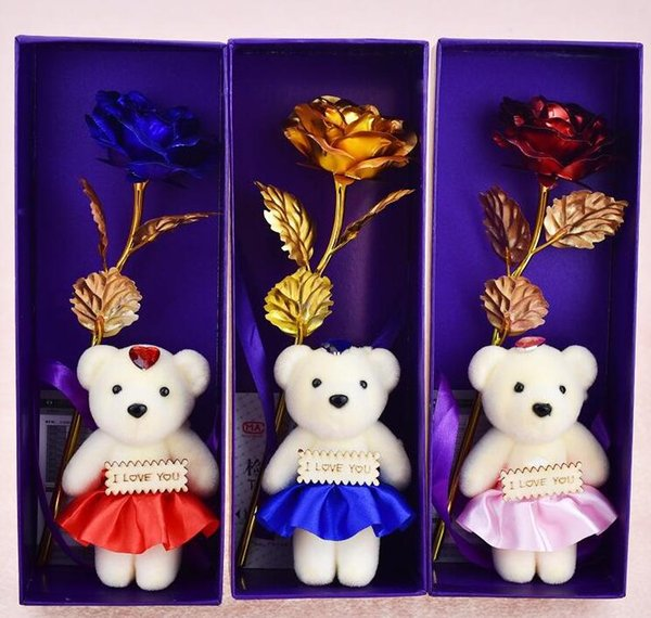 the Flower With Bear