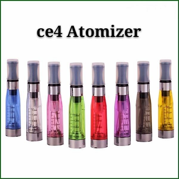 CE4 1.6ml atomizer cartomizer Electronic Cigarette 510 ego-CE4 ego t,e cigarette for E cig all ego series CE5 CE6 Clearomizer