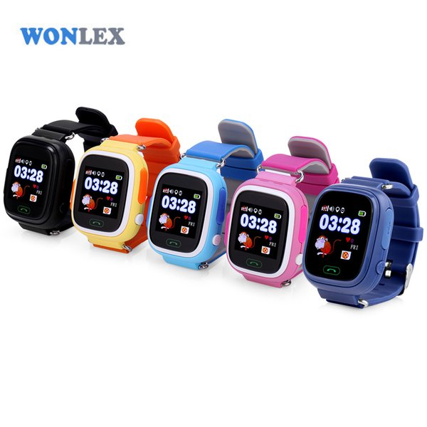 wholesale 2016 Kids GPS Watch MTK2503 Touch Screen Child Google Map SOS Button Watch for Child LBS/GPS/WIFI Locator