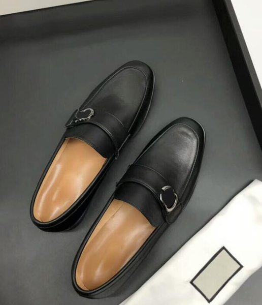 DHL бесплатно 5A 1654260 расширенный дизайн новая мода мужская кожаная обувь кожа Кожа овчины подушка размер 38-45