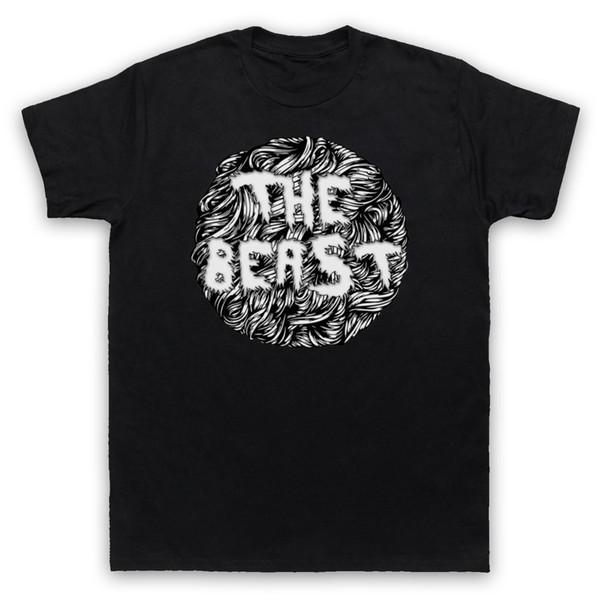 La Bête Slogan Drôle Poilu Monstre Blague Hipster Hommes Femmes Enfants T-shirt D'été À Manches Courtes T-shirt De Mode