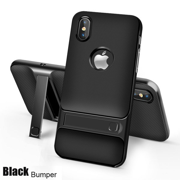 For iPhone Xs XsMax Xr X case anti-shock hybrid soft silicon cover hard bumper case