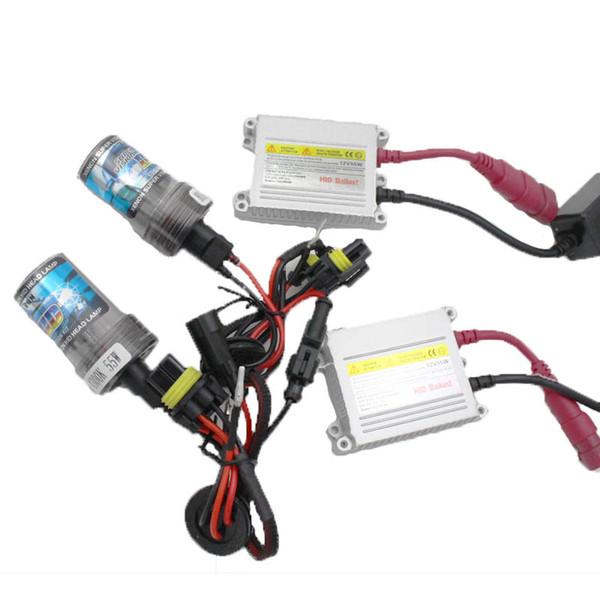Car h4 xenon lights headlight hi/lo hid bulb 55w H7 H1 H3 H8 H9 H10 H11 9005 HB3 9006 Hb4 880 881 Slim Xenon Hid Kit 12v Car Lamp Beam