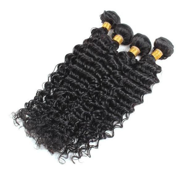 I peli vergini brasiliani economici del tessuto dei capelli umani del lotto 100g / pc dei capelli vergini brasiliani 2pcs 3pcs liberano il trasporto DHL