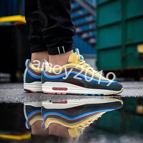 11a62870fb55a 2018 Release Sean Wotherspoon x 97 1 VF SW Hybrid Running Shoes For Men  Women