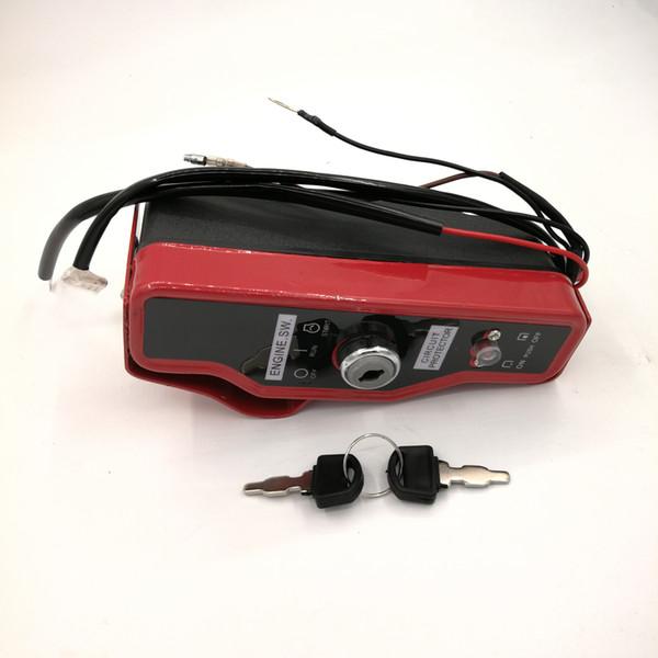 Llaves de la caja del interruptor de encendido para Honda GX340 GX390 GX 340 390 11HP 13HP Motor de gas Motor generador Bomba