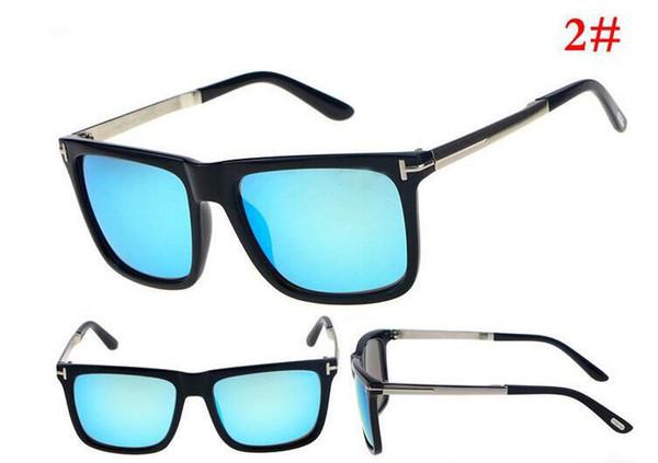 Üst Qualtiy Moda Adam Kadın 0392 Tom Güneş Gözlüğü Erika Gözlük Ford Tasarımcı Marka Güneş Gözlükleri