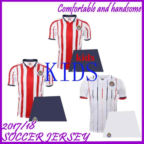 f4d626574 adult kids 2018/2019 Chivas de Guadalajara soccer jersey kit 2018/2019 men  Sets