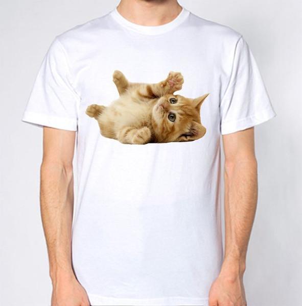 Cute Cat T-Shirt Adorable Lovely Animal Lover Kitten Funny Humor