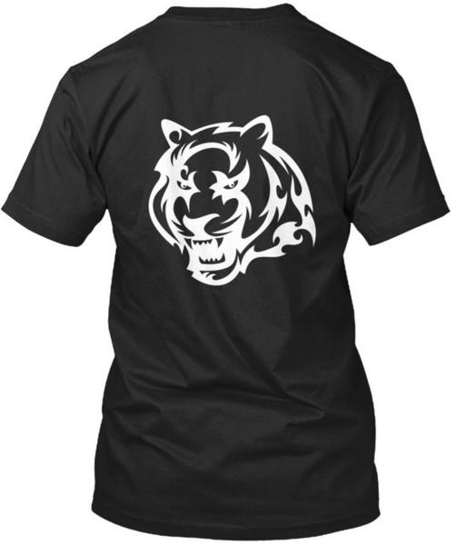 Gym Tiger Presentación T-shirt Élégant T Shirt Cotton Crewneck Short Sleeve Tshirt Men Popular Plus Size Funny T-Shirts