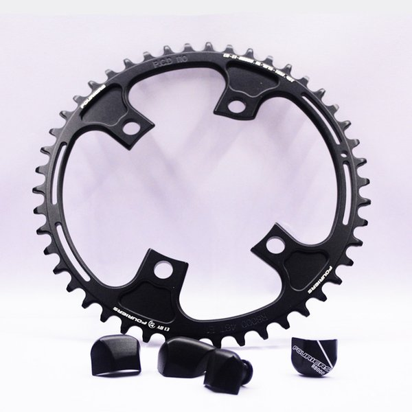 best selling FOURIERS PCD 110 MM road Bicycle Chainwheel Crankset Bike Chainwheel For FC-R8000 11 speed Crankset 42T 46T