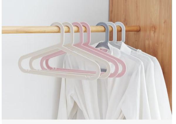 Plastic Non-slip Hanger / Dry Wet Clothes Hangers (200 Pcs) For Adult 5 Color Select HDC1023,