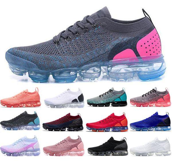 New Air Cushion 2.0 2018 fly Scarpe Uomo Donna Outdoor Trainer Sport shock da jogging Walking Walking Designer Athletic Sneakers