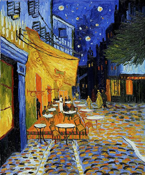 Vincent Van Gogh Oil Painting Reproduction Starry sky Canvas Wall Art Picture Printed on canvas Modern Home Decoration Unframed or Framed HT