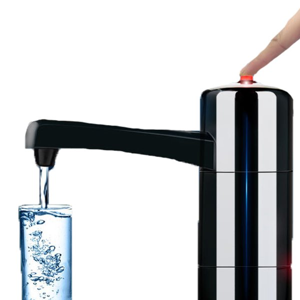 Portable Wireless Rechargeable Electric Water Pump Dispenser Water Suction Portable Drinking Water Bottles Drinkware Tools Camp