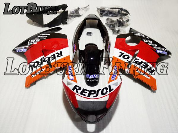High Quality ABS Plastic Fit For Honda CBR1100XX CBR Super Black Bird 1100 XX 1996 - 2007 96 - 07 Moto Custom Made Motorcycle Fairing Kit 01