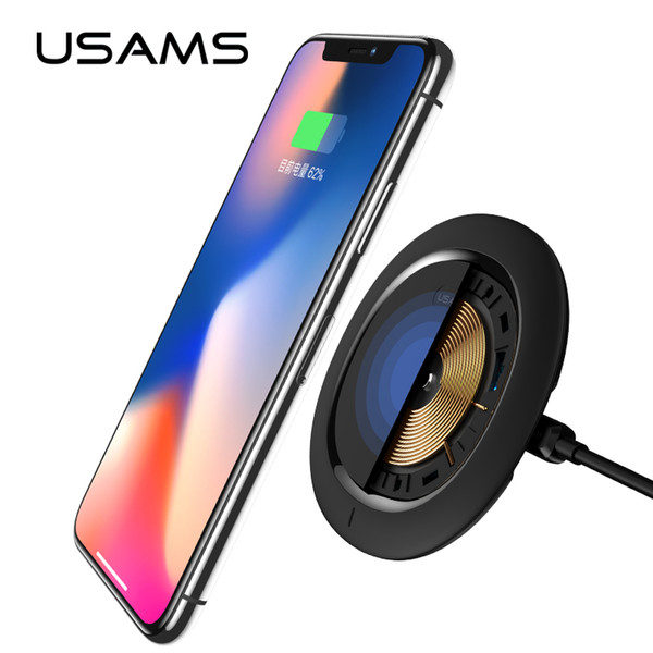 wholesale Universal Fast Charger Qi Wireless Charger 5V 2A Ultra Mini Recharger Portable Wireless Battery Charger for Samsung iPhone