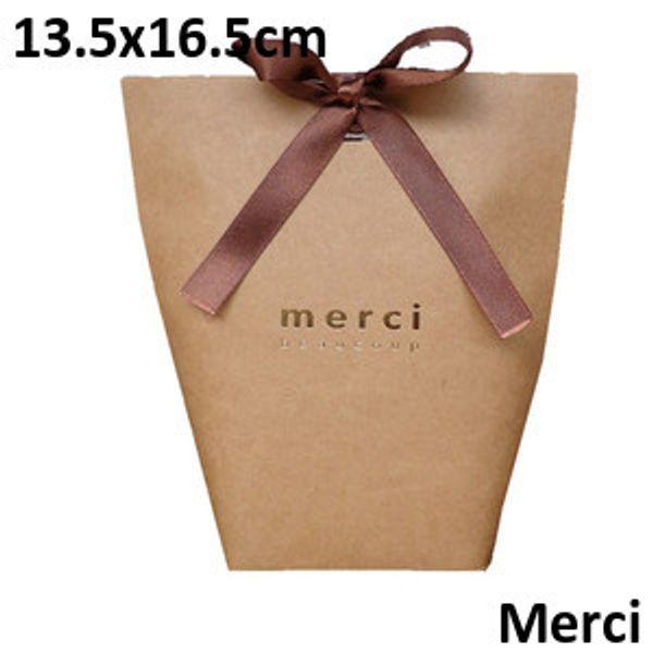 Brown Merci 13.5*16.5cm