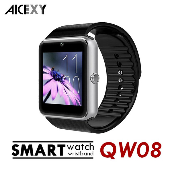 NEW QW08 Android 4.4 1.54 inch 3G WCDMA Smart Watch Phone MTK6572 1.2GHz Dual Core 512MB RAM 4GB ROM Bluetooth 4.0 SmartWatch watches MQ5