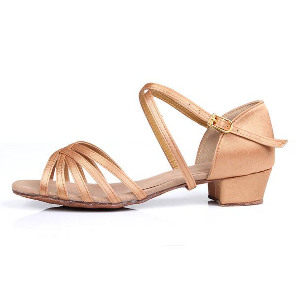 New Ballroom Tango Latin Dance Shoes High Quality Latin Women Dancing Shoe Wholesale Dance shoes for girls Low Heel