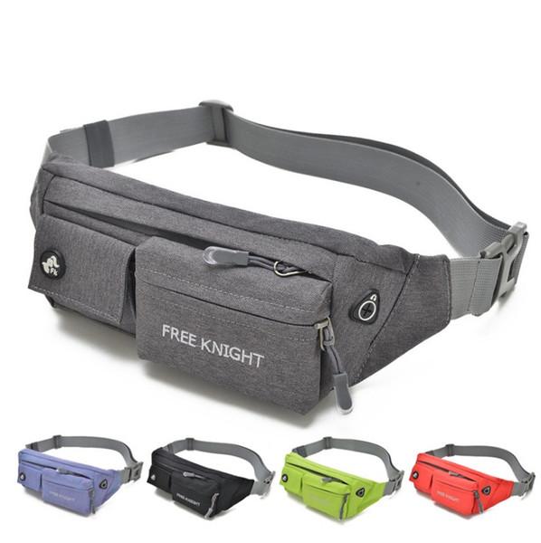 Multi-tasche Borsa da viaggio per il tempo libero Business Waist Packs Anti-furto portatile Uomini Donne Marsupio Vari colori di alta qualità